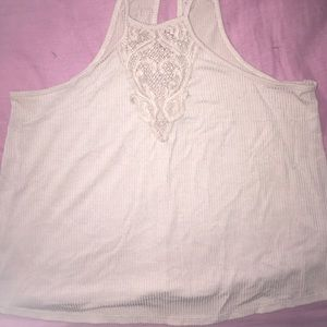 Charlotte Russe purple/pink toned top